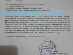 DPW JBMI STIE Al-HIKMAH DAN STIH AL – HIKMAH MEDAN  TIDAK MEWISUDAKAN  DAN MENERIMA MAHASISWA BARU