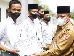 Walikota Tanjungbalai Hadiri Maulid Nabi Di SMK Negri 5