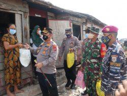 POLRES BATU BARA DAN TNI GIAT LAKSANAKAN VAKSINASI DOOR TO DOOR DALAM RANGKA VAKSINASI MASSAL 31 TAHUN PENGABDIAN AKABRI 90